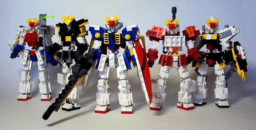 Gundam Wing Group Shot