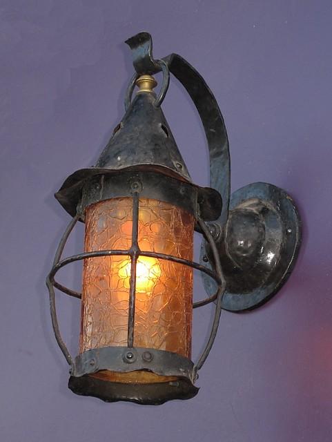 vintage cottage style porch light