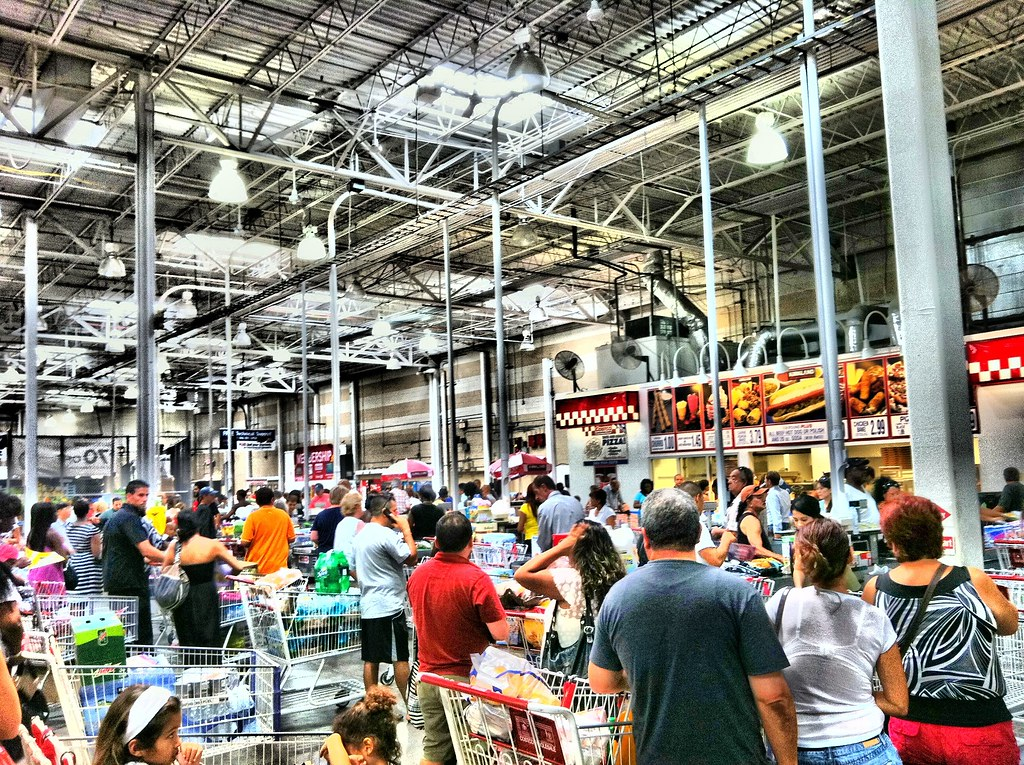 Costco on a Saturday