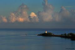 Hog Island at sunrise