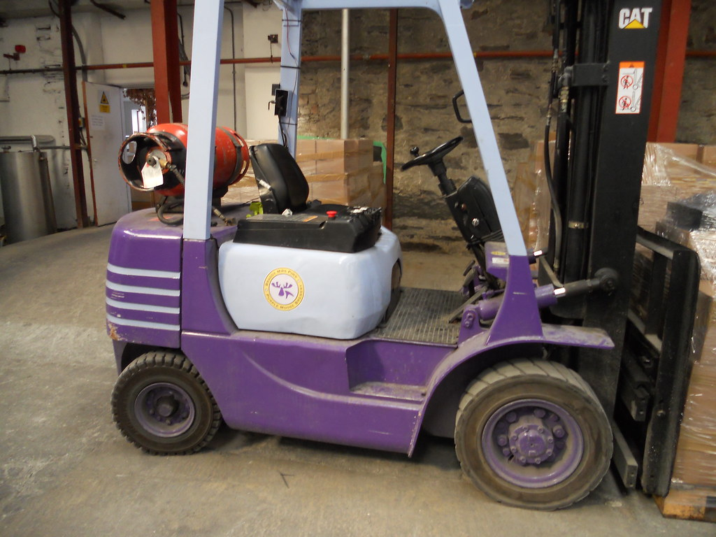 The Purple Moose forklift