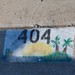 Small photo of Painted street number