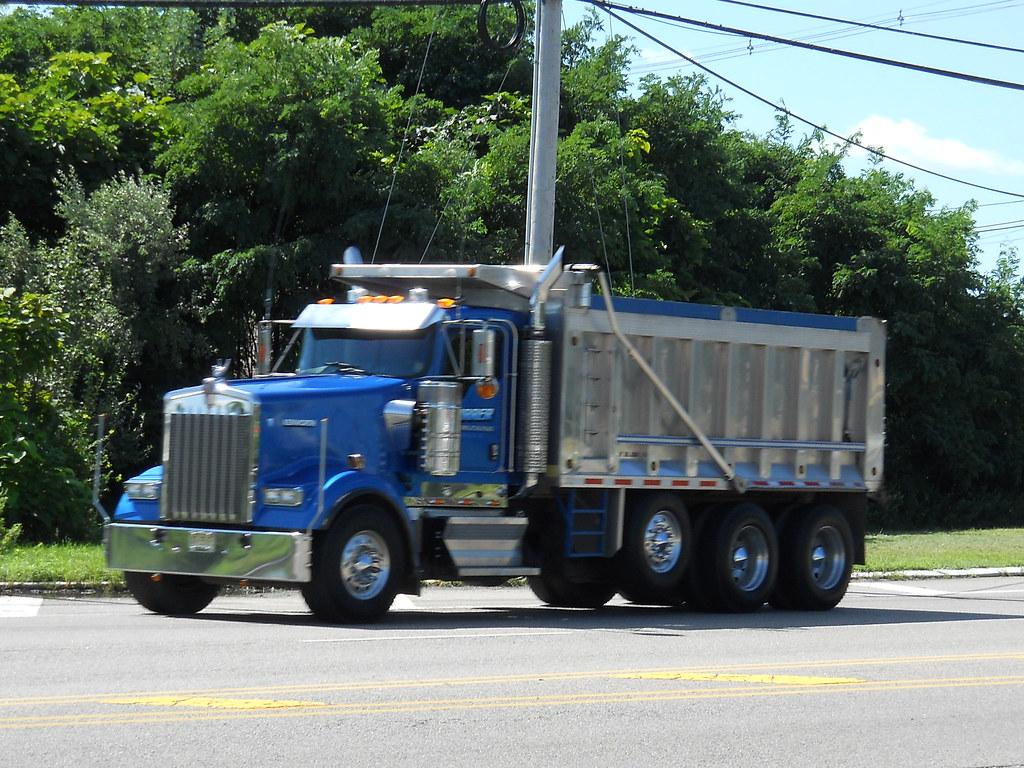 Tri Axle Show Trucks : Kenworth w tri axle dump truck explore shuxc s