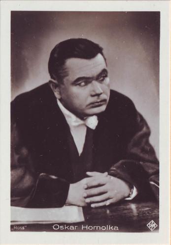 529 Oskar Homolka_Hänsom (Filmbilder Aus Tönenden Filmen; 529)
