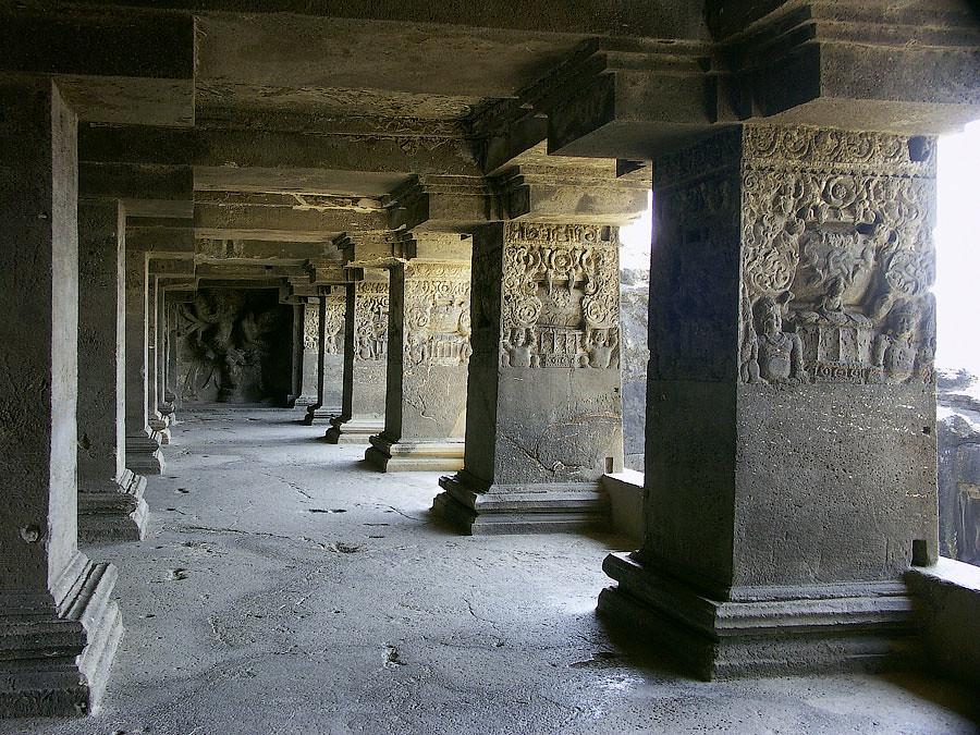 Эллора. Скальные храмы Индии © Kartzon Dream - авторские путешествия, тревел фото