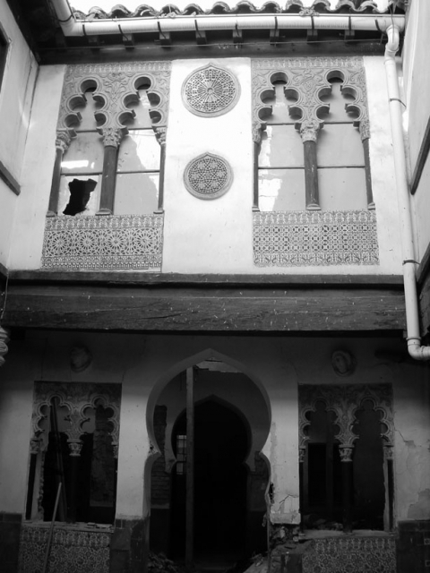 El patio toledano toledo olvidado - Colegio arquitectos toledo ...