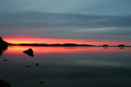 järvi auringonlasku ilomantsi koitere