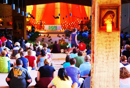 Taize prayers, Taize silence