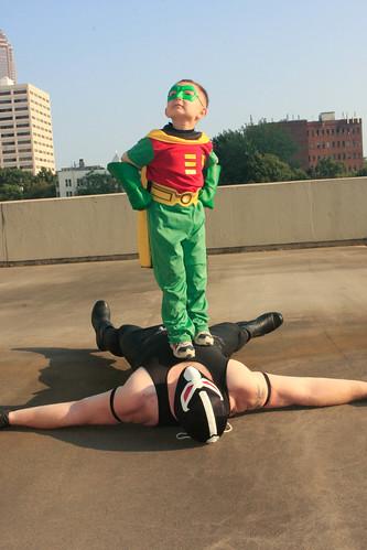 Bane and the Boy Wonder