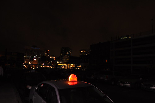 Lights out on York Street