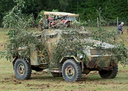 German Armoured car replica