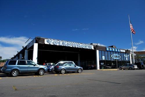Flickriver photoset 39 vintage vw dealership ephemera 39 by for Honda dealership ma