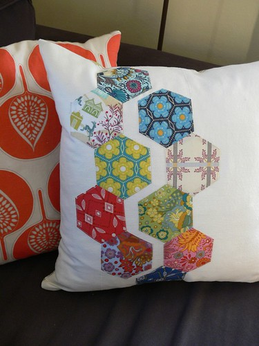 Jenny: Hexagon Pillow
