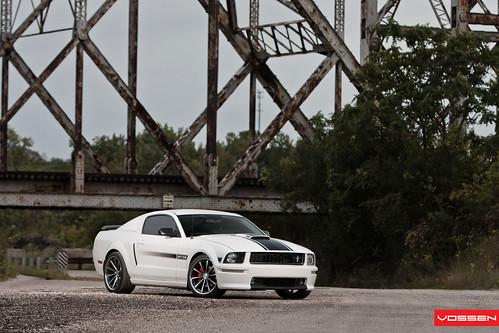 Ford Mustang GT/CS Supercharged  /  Vossen CV1 Wheels
