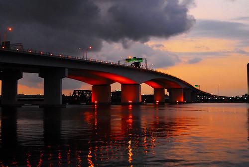 Acosta Bridge Sunset