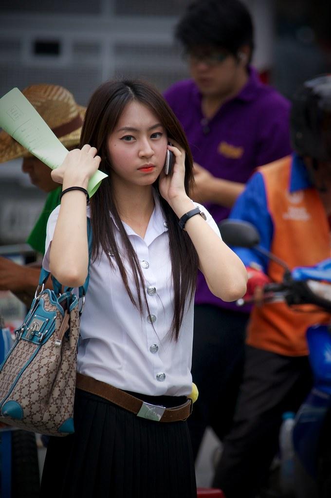 Thai School Girl  Bangkok, Thailand  Joseph Ferris Iii -4502