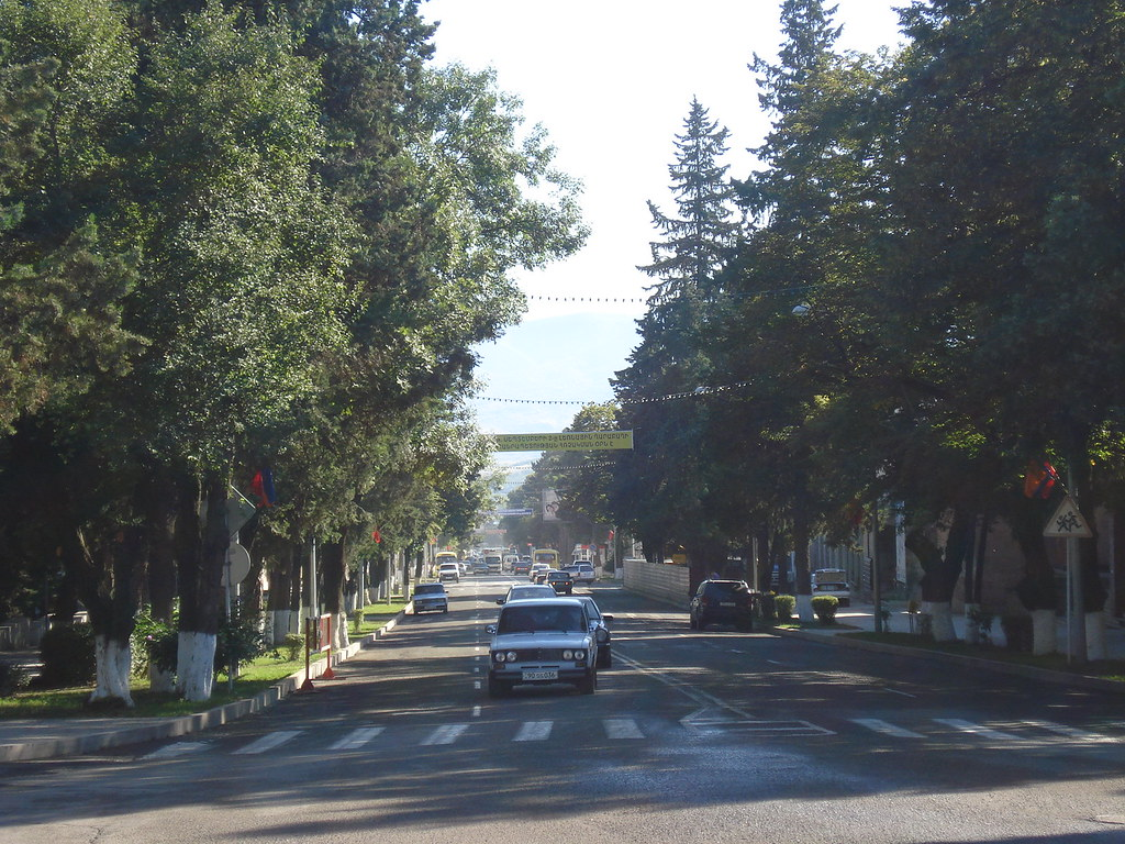 a Street from Stepanakert,NKR