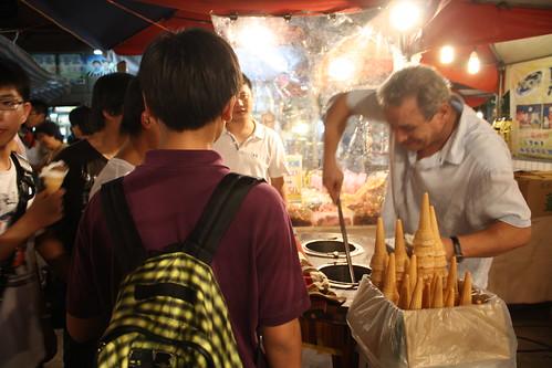 [台湾2.5] 士林夜市でアイスを食う