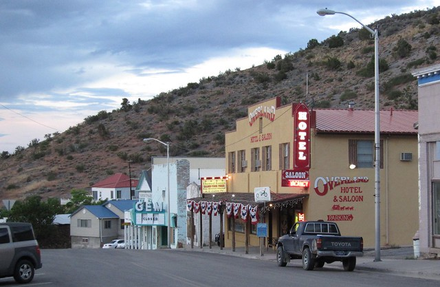Pioche, NV 0504a | Downtown Pioche in the evening | By: DB ...