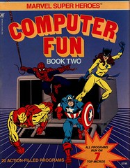 Marvel Super Heroes Computer Fun Book Two (1984)