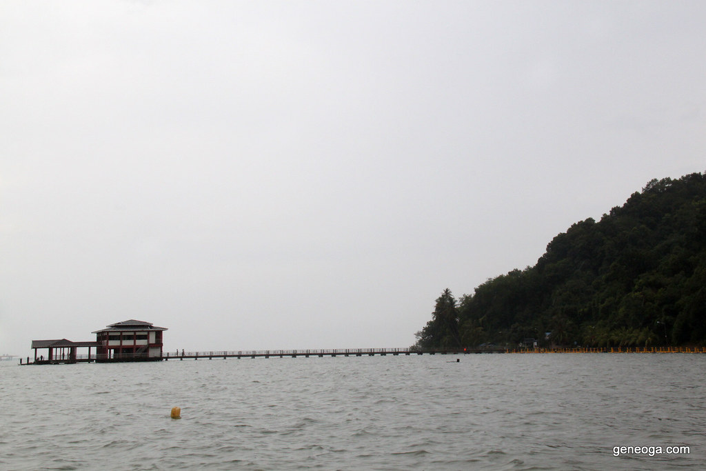 Jetty in Pulau Aman