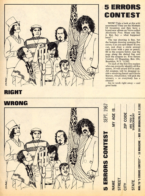 mothers of invention - 5 errors contest
