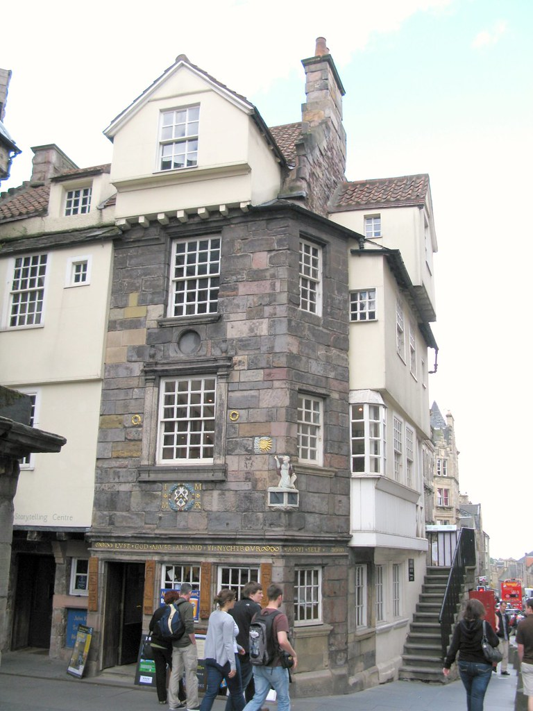John Knox's House, Royal Mile, Edinburgh. | Emma Lamb