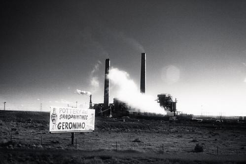Arizona, Cholla Power Plant by Juli Kearns (Idyllopus)