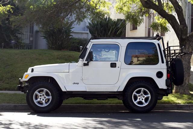 For Sale Jeep Tj Sahara White Hardtop Jeep Wrangler Sa Flickr Photo Sharing