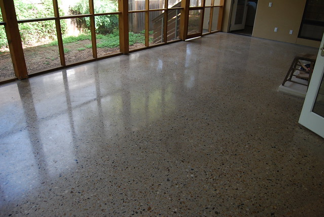 Concrete Polished Floor Polished Concrete Exposed Aggregate
