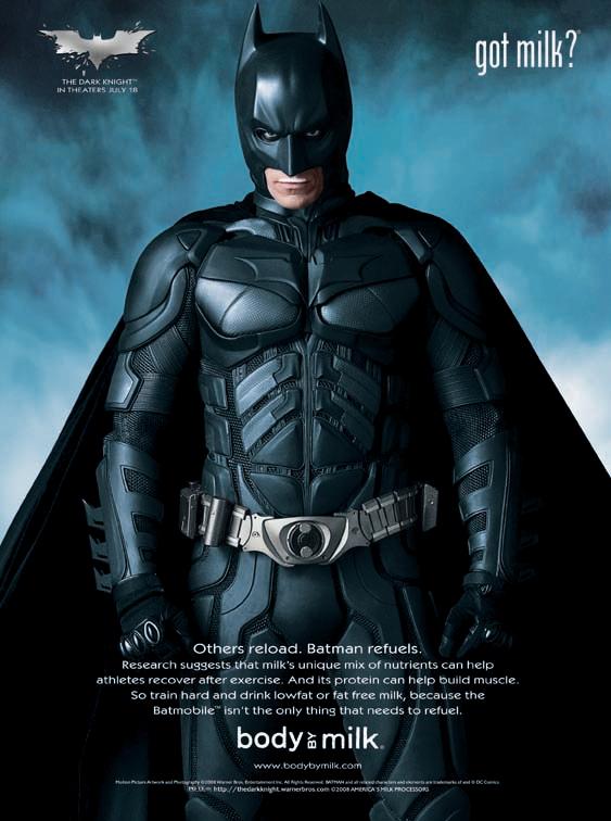 Got Milk? - The Dark Knight (2008)