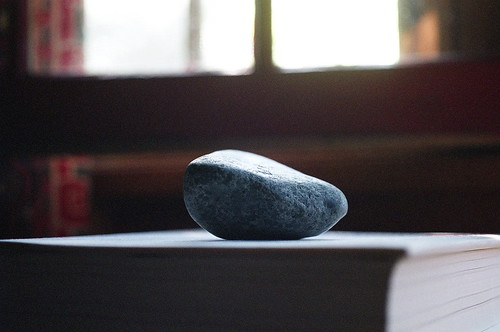 A ROCK AND BOOKS