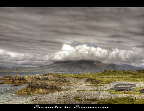 ireland mountains galway clouds boats nikon niceshot connemara hdr currach d80 mygearandme