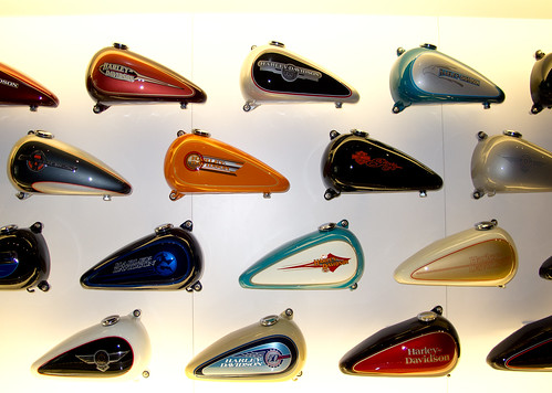 Exhibits at the Harley-Davidson Museum