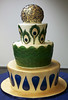 W9060 - peacock wedding cake toronto
