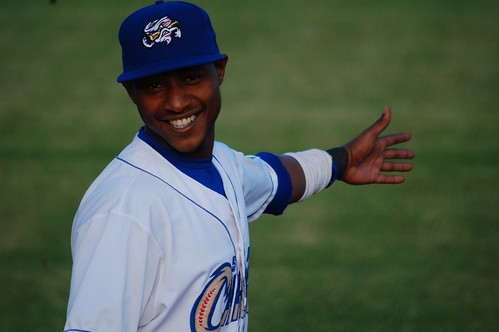 Jarrod Dyson stopped and did jazz hands