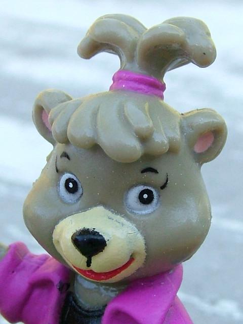 McDonald's Yo Yogi - Cindy Bear Happy Meal toy, 1992 ... Happy Meal