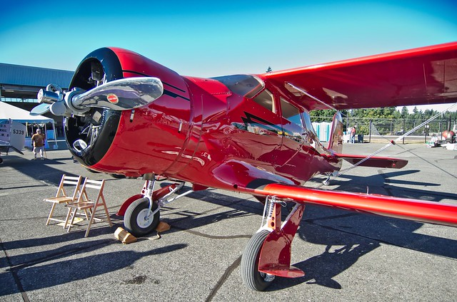 Beechcraft Staggerwing D17 NC67737