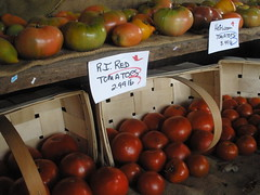 Tomatoes at Farm Stand