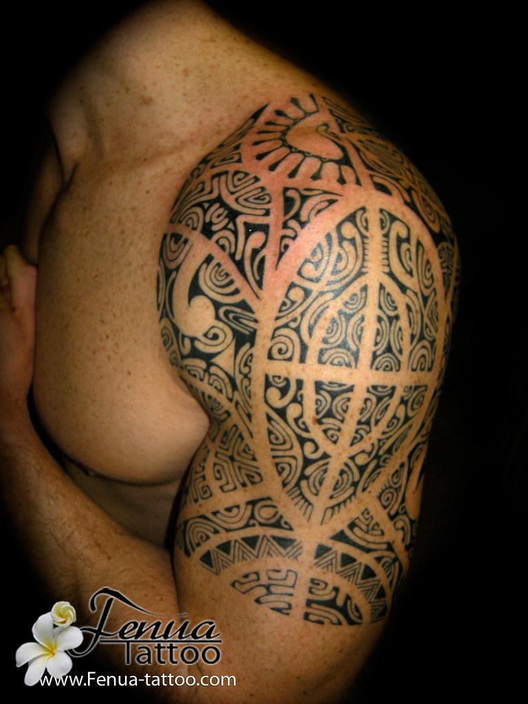 Bracelet Polynésien Tatouage dedans tahiti tattoo à sanary's most recent flickr photos | picssr