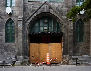 Montréal, 08 sept. 2011. Rue Saint-Denis.