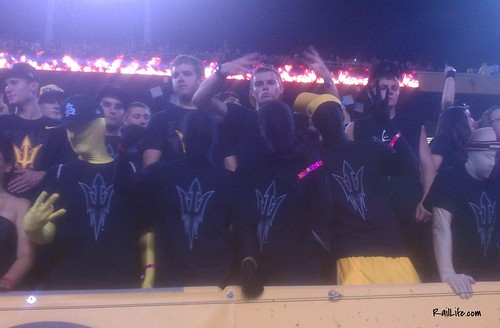ASU Black Out vs. Missou at Sun Devil Stadium