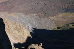 old lava flows inside haleakala