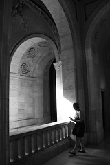 New York Public Library, Main Branch, late afternoon