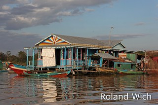 Floating Village on the Tonle Sap