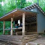 Sassafras Gap Shelter
