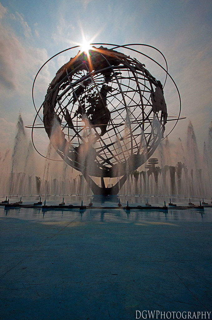 Unisphere - Worlds Fair Grounds, Flushing, NY