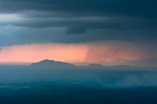 sunset bangalore hills strom nandihills bengaluru