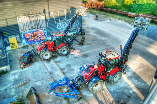 Transformers HDR Tilt Shift