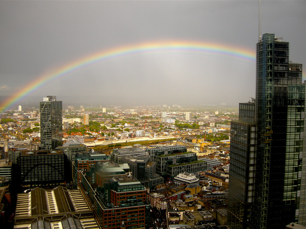 East London rainbow